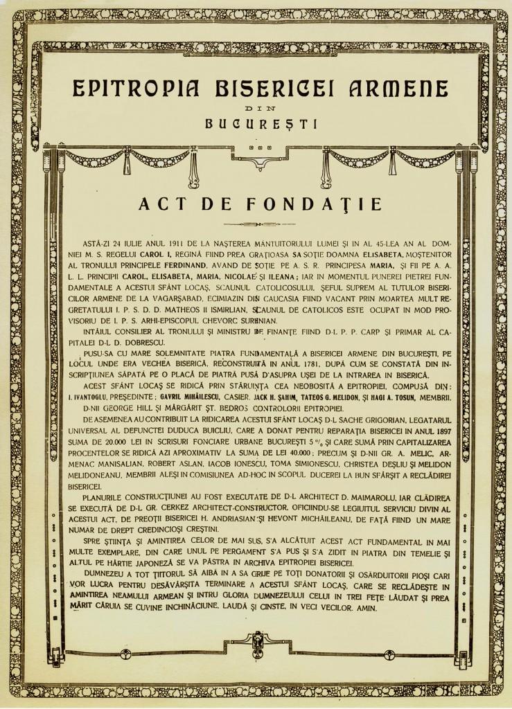 Act_fondare
