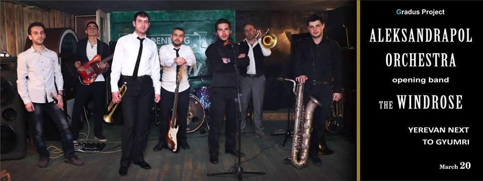 Alexandrapol Orchestra- Yerevan next to Gyumr