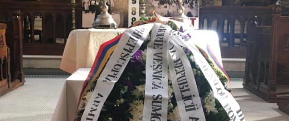 Սումգայիթյան ջարդերի 33-րդ տարելիցը ոգեկոչվեց Բուխարեստի Մայր Տաճարում