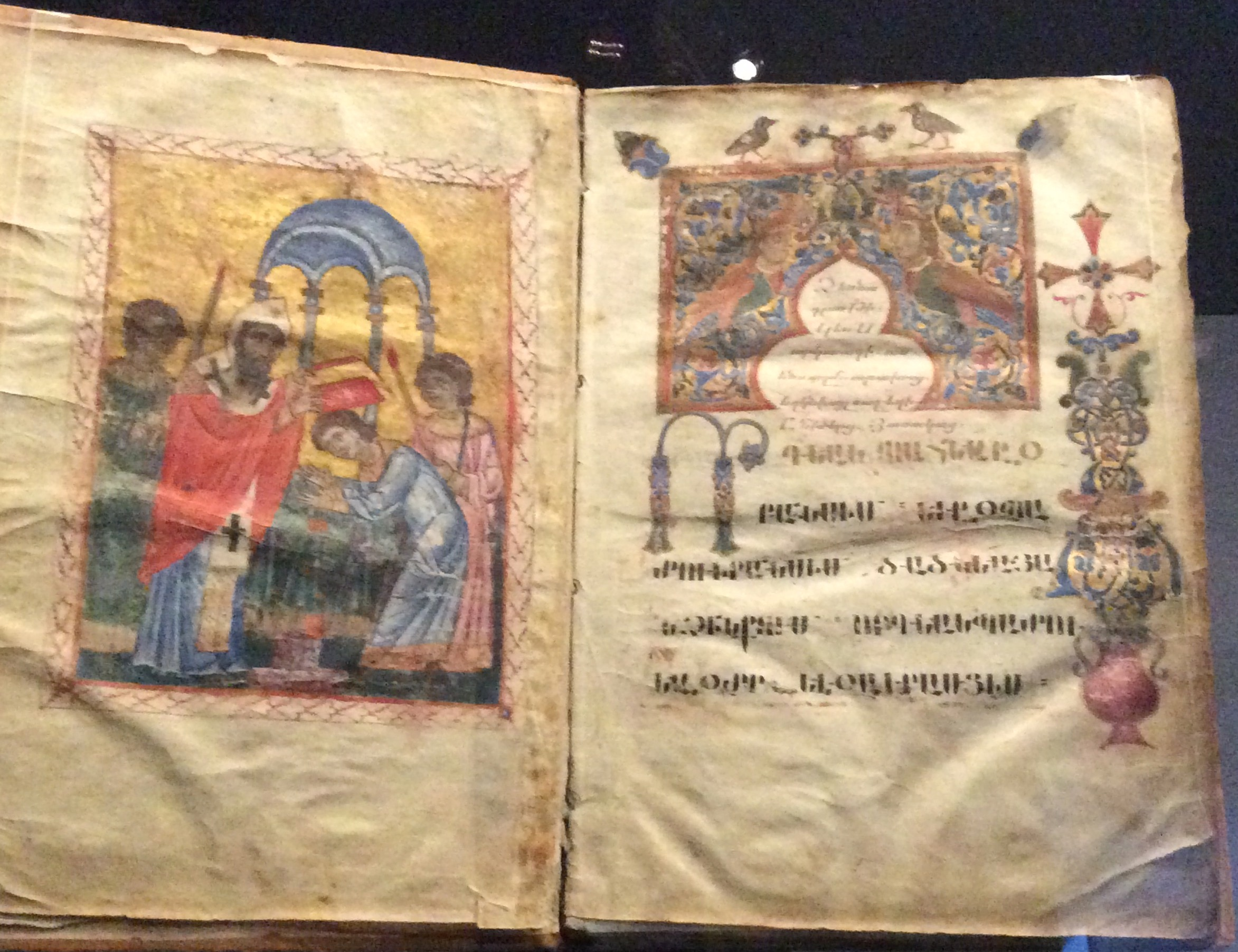 Fig.14.Carte ritualà de ordinare « Dzernakrutian Mashtots », 1248, mânàstirea Zarnuk.