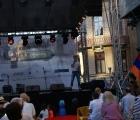 Scena vazuta din public