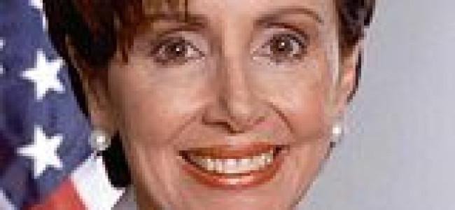 O americanca brava –  Nancy Pelosi