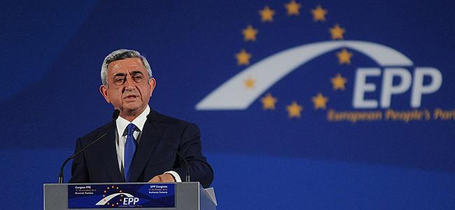 Discursul președintelui Armeniei, Serj Sarksian la Congresul PPE de la București