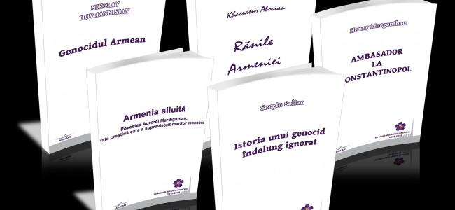 EDITURA  ARARAT / CINCI  VOLUME  DESPRE  GENOCID