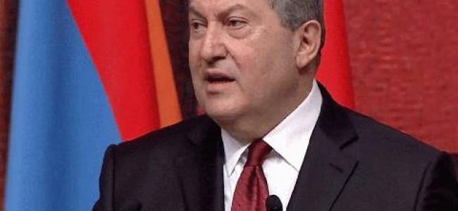 VIDEO / Învestirea noului președinte al Armeniei