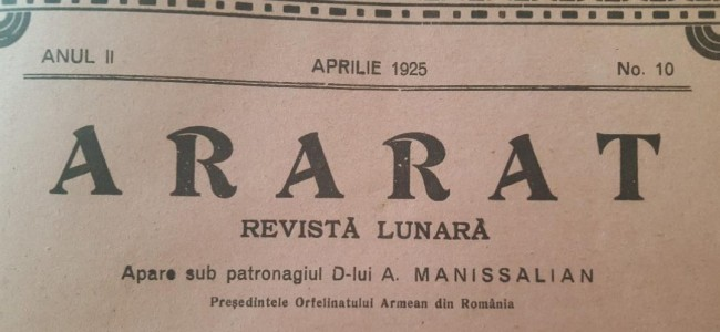 DIN ARARATUL DE ODINIOARĂ – APRILIE 1925