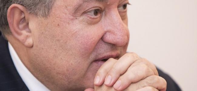 """INTERVIU ÎN EXCLUSIVITATE / ARMEN SARKISSIAN: """"TREBUIE SĂ CONSTRUIM O ARMENIE NOUĂ, DINAMICĂ ȘI ATRACTIVĂ"""""""
