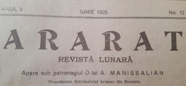 DIN ARARATUL DE ODINIOARĂ – IUNIE 1925