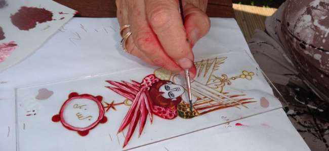 Armeanca din Gherla, artista Martaian Ermone Zabel  a avut o nouă expoziţie la Budapesta