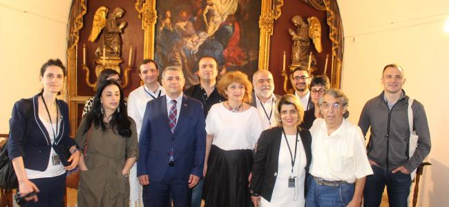 Ambasadorul  Armeniei la Bucureşti în vizită la Gherla