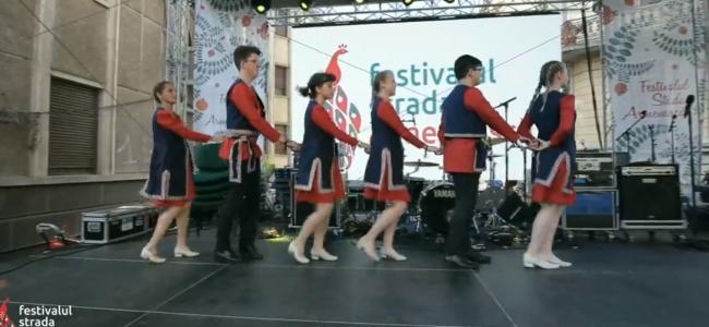 """Gherla a fost reprezentată cu succes  la Festivalul  """"Strada Armenească"""""""