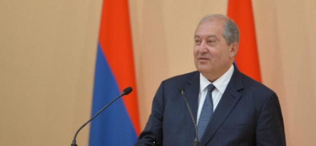 Apelul adresat întregii națiuni armene de dl. Armen Sarkissian, în dubla sa calitate de președinte al Republicii  Armenia și de președinte al Consiliului de Administrație al Fondului Armenia