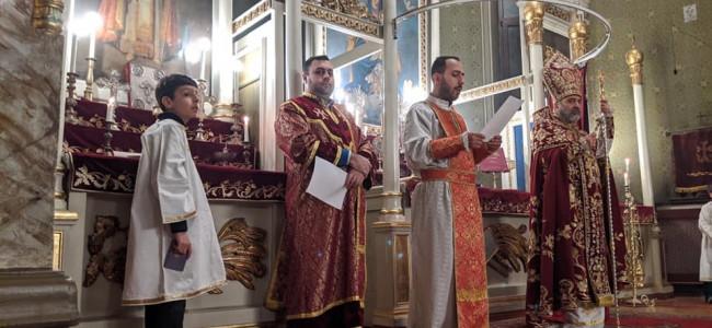 CREDINȚĂ / Slujbe de Crăciun în bisericile din Eparhia Armeană din România