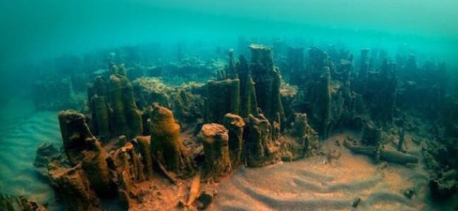 Ruinele unui castel armenesc descoperite în Lacul Van