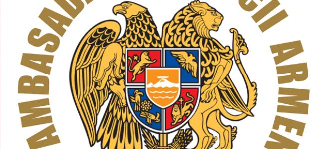 COMUNICAT DE PRESĂ / Ambasada Republicii Armenia