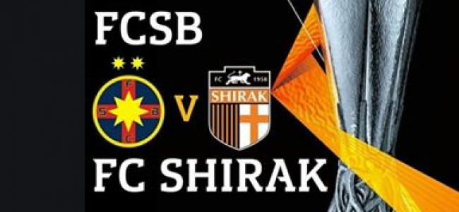 FOTBAL / FCSB – FC Shirak, în seara asta, de la ora 21:30
