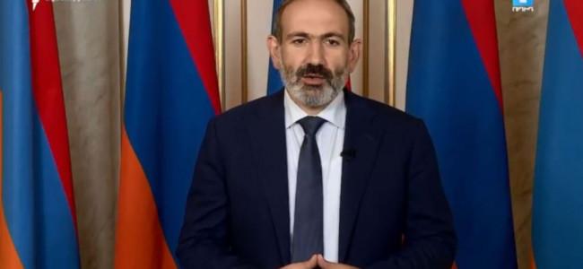 """""""ACESTA ESTE UN NOU SARTARAPAT"""" – spune Nikol Pashinyan, prim-ministrul REPUBLICII ARMENIA"""
