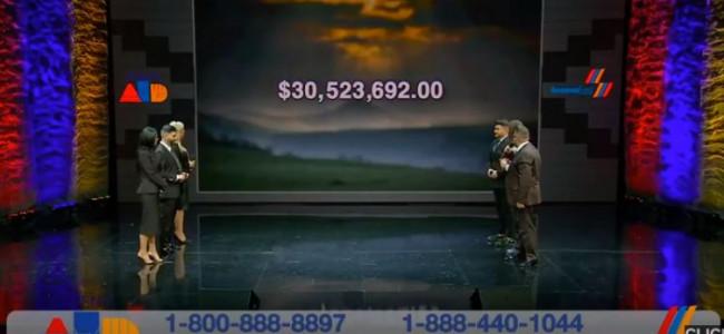 """SOLIDARITATE / 30.523.692 dolari colectați în Statele Unite de către """"Fondul Armenia"""""""