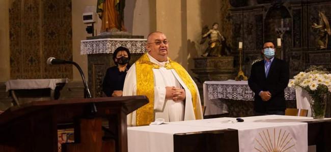 GHERLA / Binecuvîntarea familiei  în Catedrala armeano-catolică