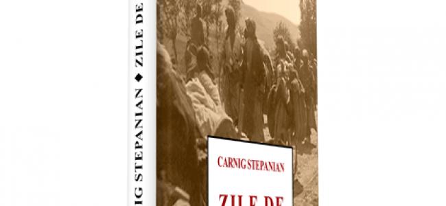 """Carte – """"Zile de coşmar"""" de Carnig Stepanian / ALERTĂ LA DEZASTRELE XENOFOBIEI"""