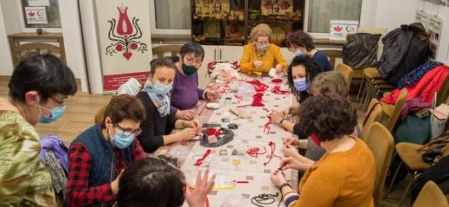 Armencele din Gherla se  instruiesc în meşteşuguri tradiţionale