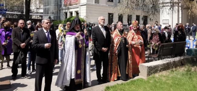 BUCUREȘTI / Comemorarea a 106 ani de la Genocidul  armean, în cadrul Eparhiei Armene