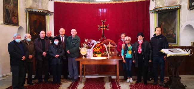 Ceremonie de slăvire a Sfinţilor Martiri la Biserica Armeană din Botoşani