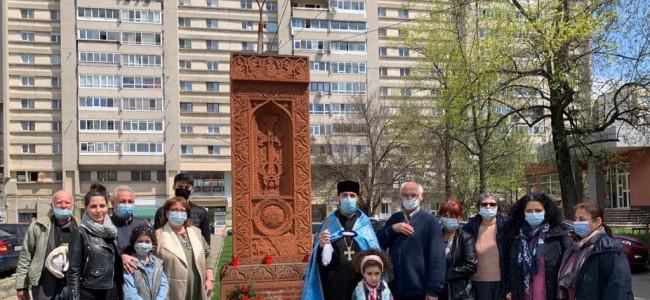 PITEȘTI / Comemorarea Sfinţilor Martiri. 106 ani de la Genocidul împotriva armenilor