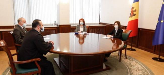 Președintele Republicii Moldova, Maia Sandu, s-a întâlnit cu reprezentanții  comunității armene