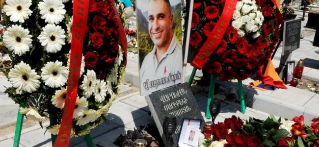 EREVAN / Eroul Varujan Matosyan a fost decorat post mortem. Ar fi împlinit 36 de ani