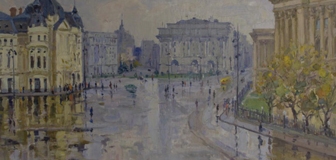 INEDIT / România din anul 1958 prin ochii pictorului armean Khaciatur Yesayan: povestea vizitei unor pictori armeni