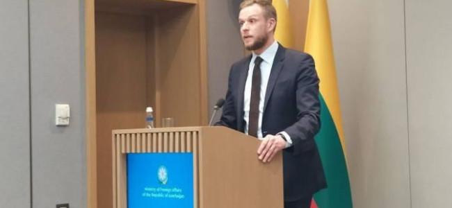 Ministrul lituanian de externe vorbește despre recunoașterea genocidului armean la Baku