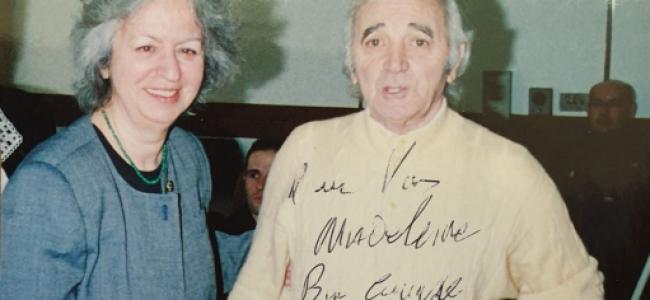 FOTOGRAFIA şi povestea din spatele ei – CHARLES   AZNAVOUR   LA    BUCUREŞTI