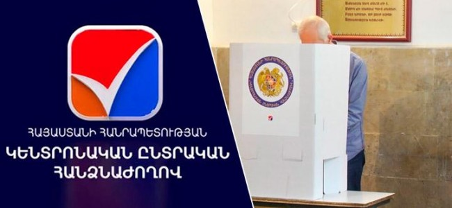20 iunie 2021 / Alegeri parlamentare anticipate în Armenia