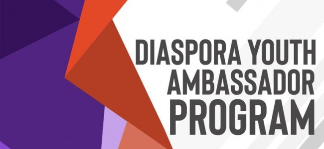 """ARMENIA   A fost lansat programul  """"Ambasadorul tineretului din Diaspora"""""""