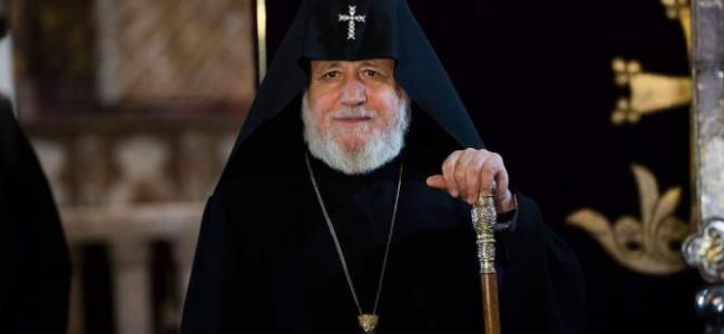 BISERICA ARMEANĂ / Sanctitatea Sa Karekin II, Catolicos al Tuturor Armenilor, efectuează o vizită în  Syunik și Arțakh