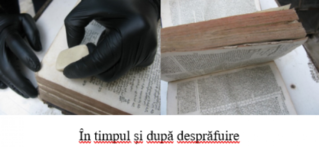 """A doua prezentare a lucrărilor din proiectul general de reabilitare a Casei de Cultură Armene """"Victoria și Hovsep Dudian"""", privind conservarea și restaurarea cărților, manuscriselor și documentelor"""