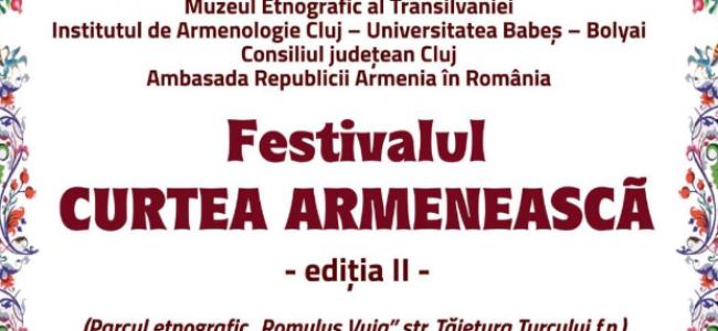 CLUJ / FESTIVALUL CURTEA ARMENEASCĂ ( ediția a II-a)