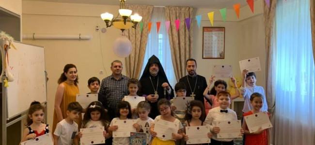 Serbare dedicată limbii armene la clubul de copii ,,Luis-lumina'' al Arhiepiscopiei Armene
