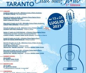 """ITALIA   Festivalul Internațional de chitară  """"CITTA' DELLO IONIO"""""""