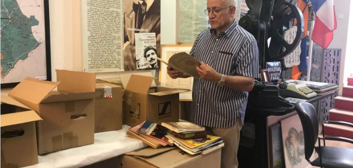 FRANȚA |  Colecția de fotografii a lui Krikor Djololian ( Studio ARAX) a fost donată Asociației pentru Cercetarea și Arhivarea Memoriei Armene (ARAM)