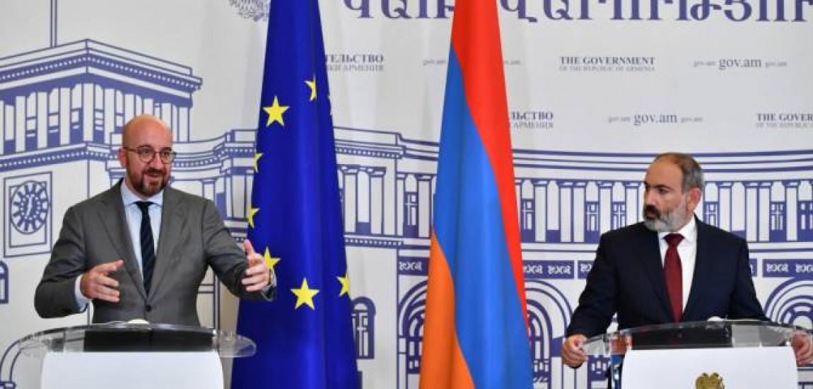 ARMENIA | Charles Michel speră că poporul armean va simți impactul pozitiv al sprijinului UE de 2,6 miliarde de euro