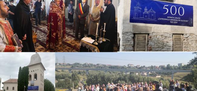 SUCEAVA | Episcopia Armeană-620 ; Sfânta Cruce-500 ; Hramul mănăstirii Hagigadar