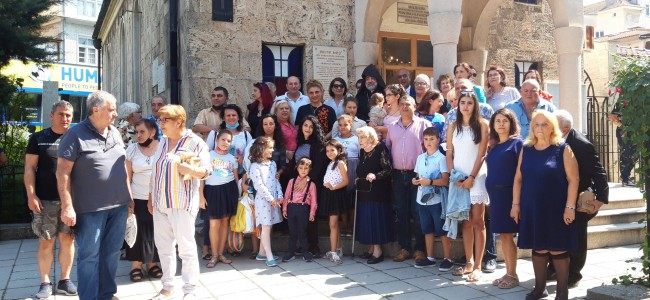 BULGARIA | Sărbătorirea tradiționalului MADAGH la Biserica Armeană Sf. Cruce din Burgas, cea mai veche biserică din localitate