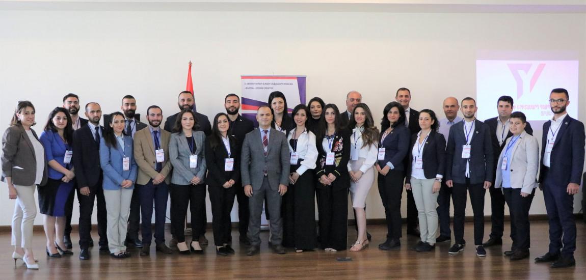 """20 de tineri din 16 țări au sosit în Armenia pentru a participa la programul  """"Diaspora Youth Ambassador"""""""