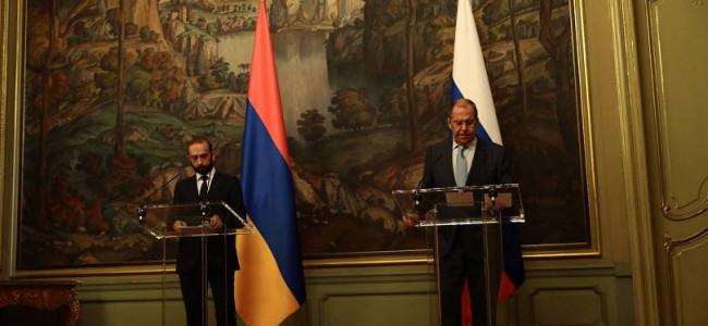 MOSCOVA | Ministrul armean de externe, Ararat Mirzoyan, s-a întâlnit cu omologul său rus, Serghei Lavrov