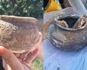 ARHEOLOGIE |  Lespezi funerare și ceramică, vechi de 5.000 de ani, descoperite în Vanadzor – Armenia