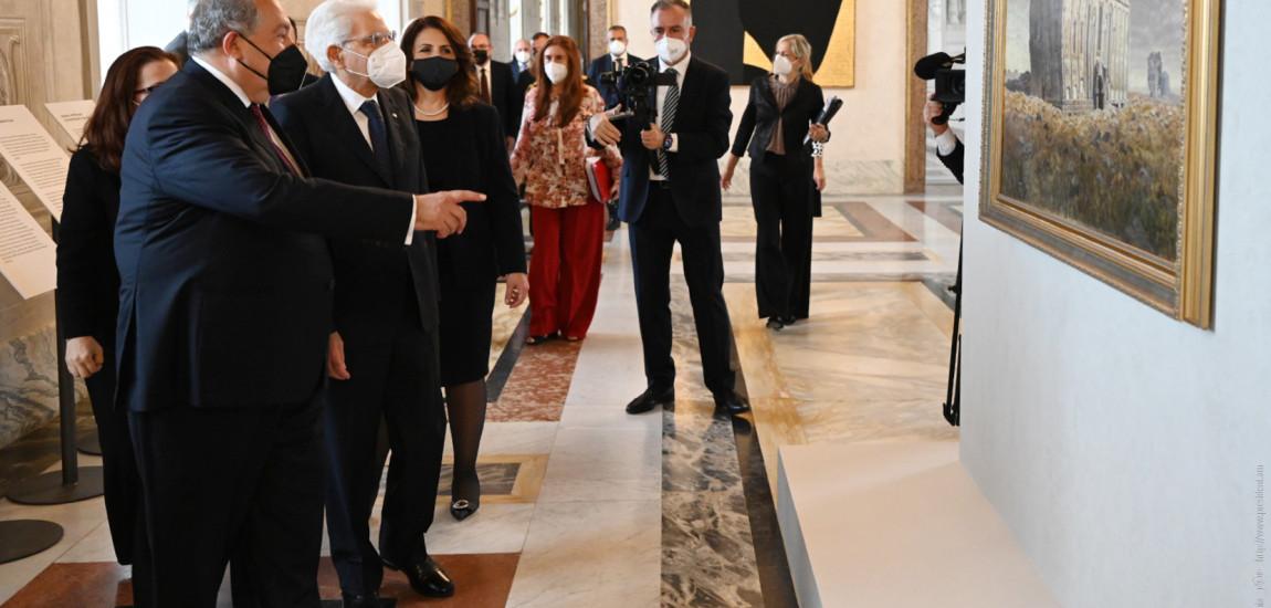 ITALIA   O expoziție unică, de artă armeană, s-a deschis la Palatul prezidențial Quirinal