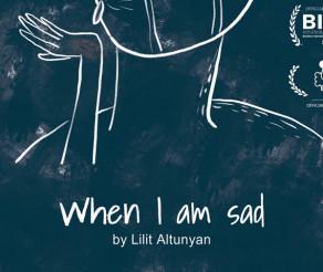 """Filmul de animație """"Când sunt trist"""", regizat de Lilit Altunyan, a avut premiera mondială la Festivalul Animest de la București"""