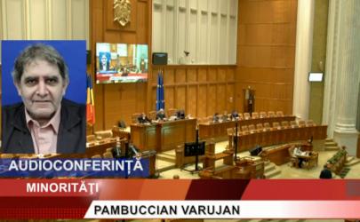 CAMERA DEPUTAȚILOR   Intervenția domnului deputat Varujan Pambuccian, cu prilejul Zilei limbii, alfabetului și culturii armene (prin audioconferință)